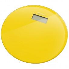 Весы напольные электронные ENERGY EN-420 RIO (стеклянные, круглые, желтые)