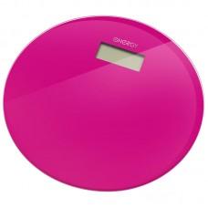 Весы напольные электронные ENERGY EN-420 RIO (стеклянные, круглые, цикламен)