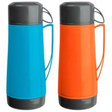 Термос в пластик корп, объем -1.8 л, стекл колба с 2-ми ст-ми (1 чашка), серия LUMINOSO,тм Mallony