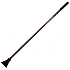 Ледоруб сварной малый,  метал. черенок, пласт. ручка