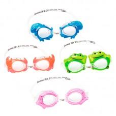 Очки для плавания (4 дизайна в виде морских животных), 21047