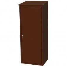 Шкаф для газ. баллона(50л), с замком (разборный оцинк.)цвет: коричневый