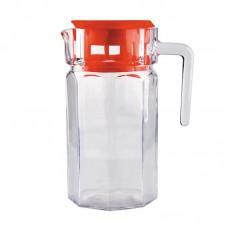 Кувшин стеклянный с пласт крышкой, серия Nettare, литраж - 1,5 л, Mallony