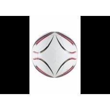 Мяч футбольный ECOS Pro Hybrid Embossed. Размер №5 Красный