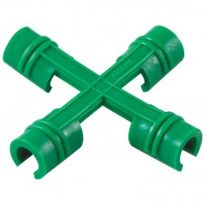 Соединитель-крестовина упак 6шт (для сборки из трубок 10-12 мм)