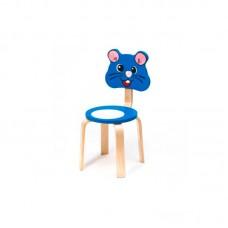 "Стул детский ""Мышка"", синий"