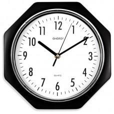 Часы настенные кварцевые ENERGY модель ЕС-06 восьмиугольные