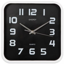 Часы настенные кварцевые ENERGY модель ЕС-09 квадратные