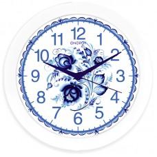Часы настенные кварцевые ENERGY модель ЕС-102 гжель