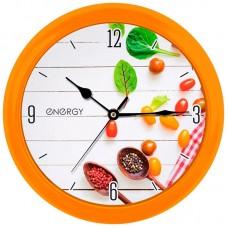 Часы настенные кварцевые ENERGY модель ЕС-111 специи