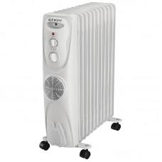 Радиатор масляный ENGY EN-1311F  (11секц.)  2.8 кВт, с т/в