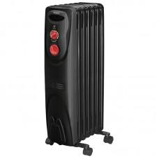 Радиатор масляный ENGY EN-1907 black  (7секц.)  1.5 кВт