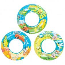 Круг надувной для плавания Дизайнерский 56 см, 36013 Bestway