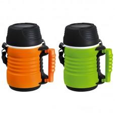 Термос-контейнер пищевой с ремешком, корп PP, объем - 1 литр, стекл колба, серия - BELLO, тм Mallony