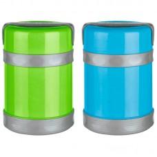 Термос-контейнер в пластиковом корпусе c колбой из нерж. стали BELLO, 1,2 л