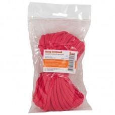 Шнур вязанный хозяйственный цветной д. 4 мм (20 метров)