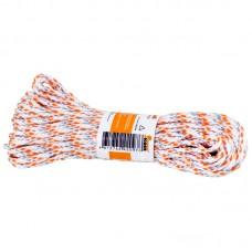 Шнур плетеный с сердечником высокопрочный цветной д. 3 мм  (20 метров)