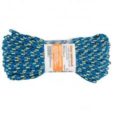 Шнур плетеный с сердечником высокопрочный цветной д. 4 мм  (20 метров)