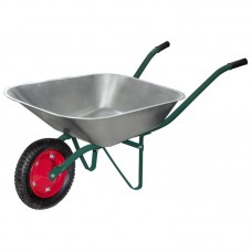 Тачка садовая WB 4307 в т/у (оцинк., 130кг, 65л., пневмат. колесо тип2 330мм)