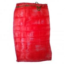 Мешок-сетка для овощей, красная, 50х80 см