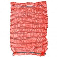 Мешок-сетка для овощей, красная, 30х47 см