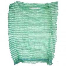 Мешок-сетка для овощей, зеленая, 25х39 см