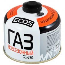 Газ всесезонный т.м. ECOS в баллоне, GC-230 (резьбовой EPI-GAS, 230 г, Корея)
