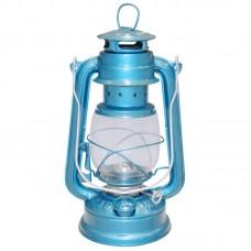 Лампа керосиновая  235 24,5 см (Цвет синий)