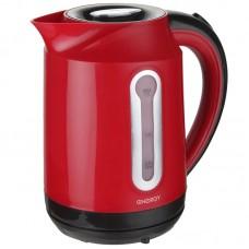 Чайник ENERGY E-210 (1,7 л, диск) красный