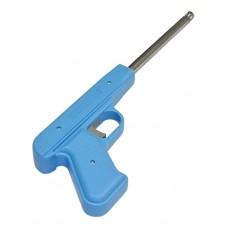 Пьезозажигалка Energy JZDD-17-LBL, пистолет, голубая