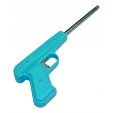 Пьезозажигалка Energy JZDD-17-PRP, пистолет, светло-голубая