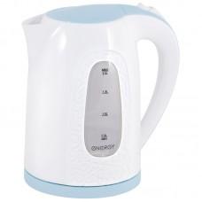 Чайник ENERGY E-236 (2 л.), диск бело-голубой