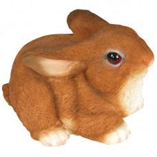 Фигурка садовая «Кролик» GF-R-02, материал: полистоун, высота: 13 см