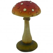 Фигурка садовая «Гриб», GK-M-72, материал: полистоун, размеры: 7,6*7,6*13,2 см