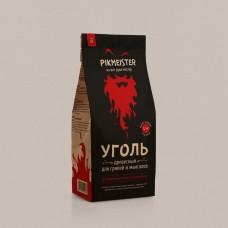 Уголь древесный PIKMEISTER, 1,2кг (пакет 10л)