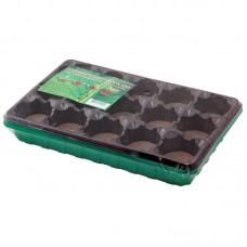 Минипарник 15 ячеек ( 1 вставка*15ячеек), с торфяными таблетками