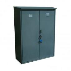 Шкаф для газовых баллонов, двухместный (разборный, баллон 50 лит.)