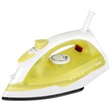 Утюг ENERGY EN-327 желтый (1600Вт, пар, спрей, пар.удар, самооч., тефлоновая подошва)