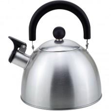 Чайник из нержавеющей стали Mallony MAL-039-MP, (2,3 литра, матовый, со свистком)