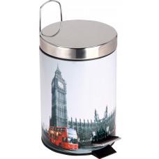 """Ведро для мусора круглое DB-21 """"Лондон"""" Объем: 3л"""