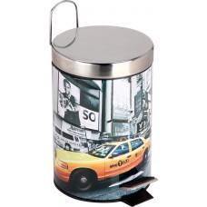 """Ведро для мусора круглое DB-23 """"Нью-Йорк"""" Объем: 3л"""