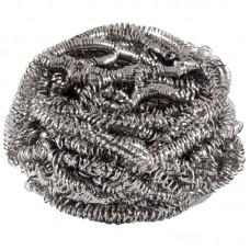 Мочалка для посуды металлическая, спираль, вес 12 гр., 1 шт.