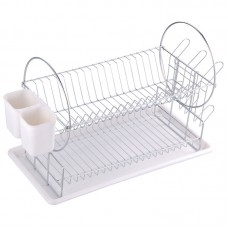Сушилка для посуды двухуровневая настольная DR-1, размер:50*23*36см