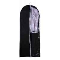 Чехол для одежды подвесной GCN-60*150, нетканка, размер: 60*150см, черный