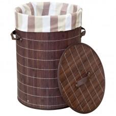 Корзина для белья BLB-01-D бамбук