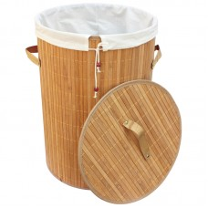 Корзина для белья BLB-01-L, бамбук