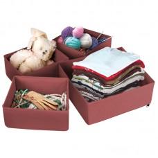 Набор коробок для хранения вещей (4шт.)