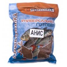 """Прикормка для рыб """"Подсекайка"""", для рыбалки готовая, в п/э пакете, универсальная, 1кг."""