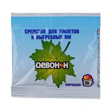 Порошок Девон-Н 30 г. (для биотуалетов, выгребных ям, удаления запахов и загрязнений)