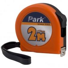 Рулетка Park с фиксатором, пластиковый корпус, 2мx13мм TM24-2013